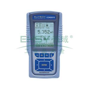 便携式电导率/TDS/盐度测量仪,防水CyberScan CON 610 高级便携式电导率/电阻率/TDS/盐度仪