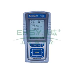 便携式多参数测量仪,防水型CyberScan PD 650 pH/mV/离子/溶解氧 多参数仪表