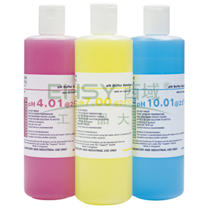 pH缓冲溶液,pH 7.00彩色缓冲溶液(黄),1L/瓶