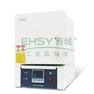 箱式电阻炉,一体式、陶瓷纤维炉膛,最高温度1200℃,16L,精锐