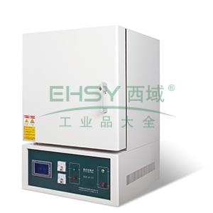 箱式电阻炉,双层机箱陶瓷纤维炉膛,最高温度1700℃,6.7L,精锐
