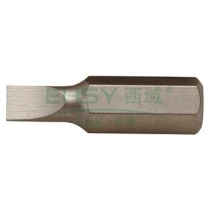 西瑞一字螺丝刀头,25MM 0.4*3,10个/盒,BSL025030-M