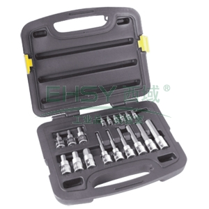 史丹利套筒套装,6.3mm、12.5mm系列旋具套18件套,91-940-22