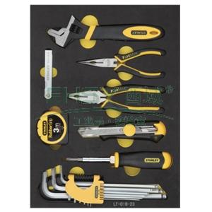 史丹利工具托,21件套紧固夹持测量用,LT-016-23