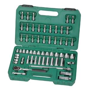 世达公制套筒组套,10mm系列58件套,09004