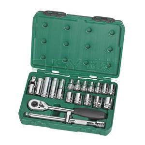 世达公制套筒组套,12.5mm系列20件套,09005