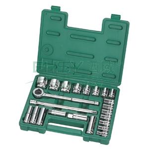 世达套筒组套,公制12.5mm系列23件套,09526