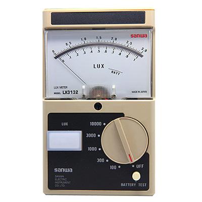 照度计,日本三和 指针式勒克斯计,LX3132