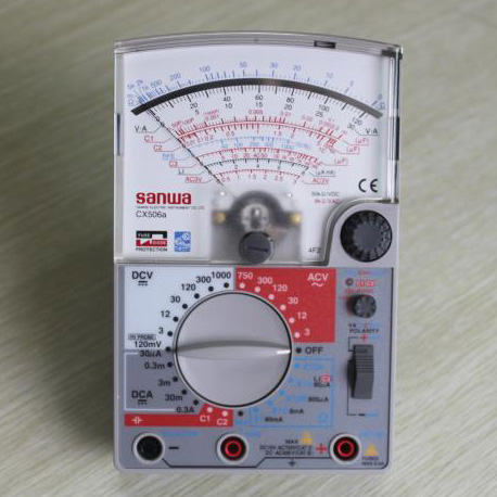 指针式万用表,日本三和 CX506a