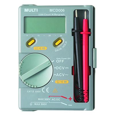 万用表,日本万用袖珍数字多功能电表,MultiMCD-006