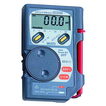 万用表,日本万用袖珍数字多功能电表,MultiMCD-008