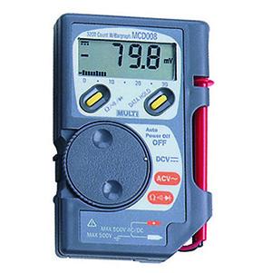 万用表,日本万用袖珍数字多功能电表,MultiMCD-010