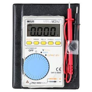 日本万用 袖珍数字多功能电表,MultiMCD-107