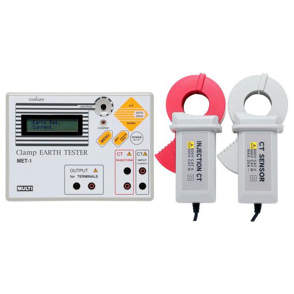接地电阻测试仪,日本万用钳形接地电阻仪,MultiMET-1