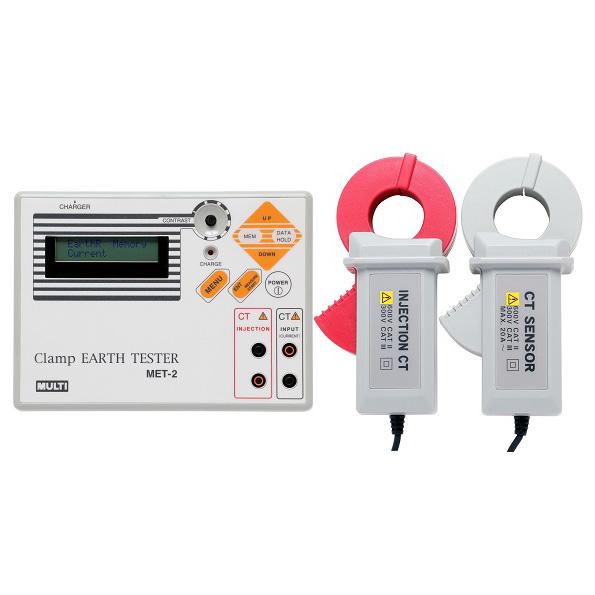 接地电阻测试仪,日本万用钳形接地电阻仪,MultiMET-2