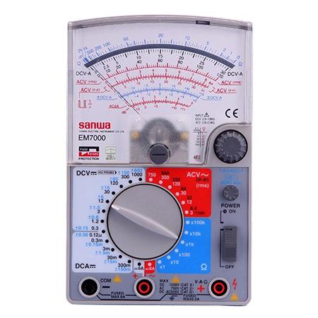指针式万用表,日本三和 EM7000