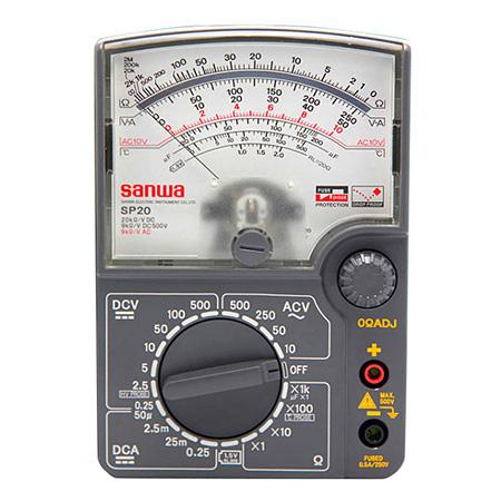 三和/SANWA 指针式万用表,SP20