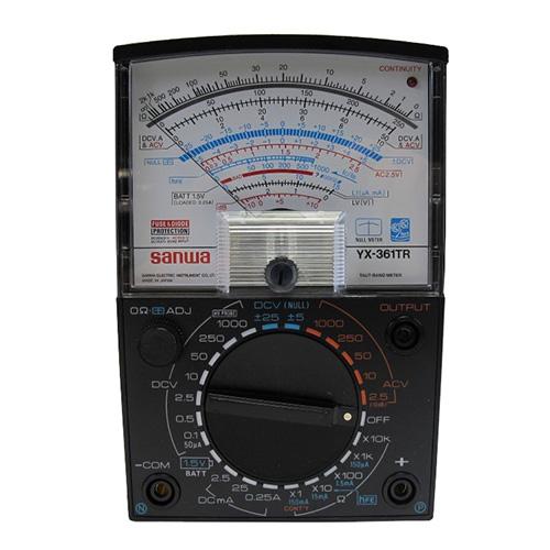 指针式万用表,日本三和 YX-361TR