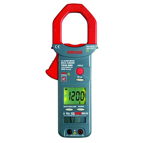钳形表,日本三和 交流钳表 非接触直流电压检测,DCL1200R