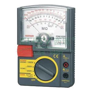 模拟兆欧表,日本三和 指针式绝缘电阻测试仪,PDM1529S
