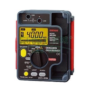 兆欧表,日本三和 数字式绝缘电阻测试仪,MG500
