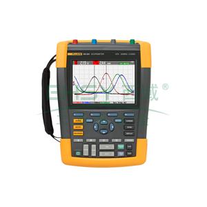 福禄克/FLUKE FLUKE-190-104/S彩色数字示波器,100MHz,4通道 DMM/外部输入,随附SCC-290套件