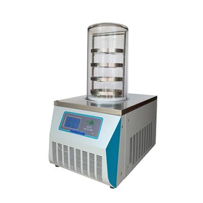 冷冻干燥机,普通型台式,LGJ-10,-56℃,四层托盘,冻干面积0.12m2、真空度≤5pa