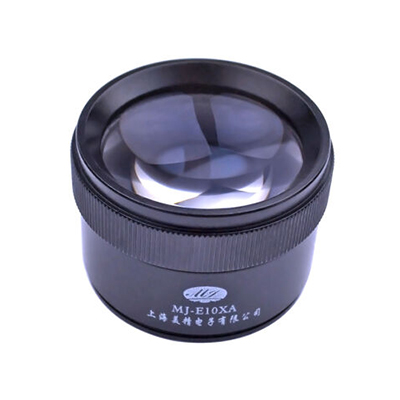 美精 10倍大口径35毫米消平场光学玻璃双镜放大镜,MJ-E10XA