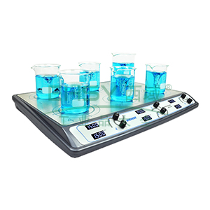 搅拌器,Wiggens,模拟调节式,WH-610A,显示方式:刻度显示,搅拌位数:6,搅拌台面尺寸:473x303mm