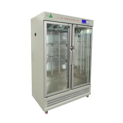 SL-Ⅲ层析实验冷柜(双开门),控温范围:1~10℃,容量:1200L