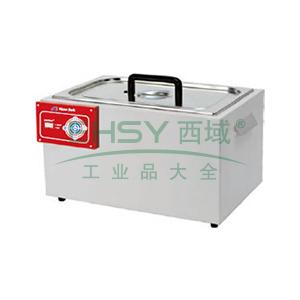 恒温水浴锅,容积:10L   新型加热管 温度均匀性±0.3℃  控温范围Rt+5℃~99℃,精骐,SYG-1220
