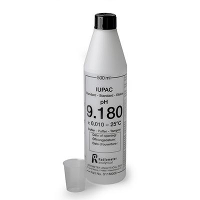 pH缓冲液,哈希 pH标准液,pH 9.18,规格500ml