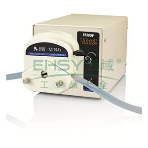 数字转速型蠕动泵 ,BT300M DG-4(6滚轮) 每通道0.06~30ml/min 35W 4 ,创锐