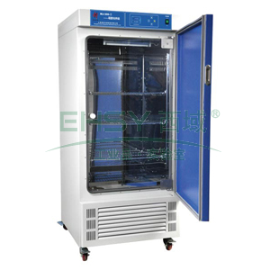 霉菌培养箱,液晶显示,MJ-70-I,控温范围:0~65℃,公称容积:70L,工作室尺寸:450x320x500mm