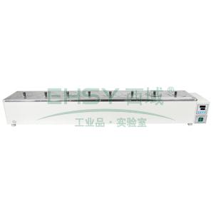 恒温水浴锅,HWS-18,控温范围:RT+5~100℃,公称容积:19.8L,工作室尺寸:1200x150x110mm