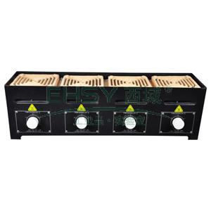 万用电炉,立式,四联4KW,稳定功率:4000W,外形尺寸:610x170x180