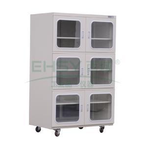 电子防潮箱,希斯百瑞,智能精密型,SS1436HS,六门,容量:1436L,湿度范围:20~60%RH
