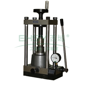粉末压片机,手动型,FY-60,最大压力:60吨,快速顶升,自动复位