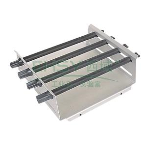 通用夹具,艾卡,AS260.1,通过改变固定棒的位置可夹持各种不同形状的容器