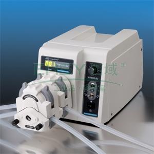 蠕动泵,兰格,WT600-2J(泵头YZ1515x),转速范围:60-600rpm,单通道流量范围:4.2-2200ml/min