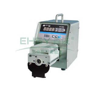 基本调速型蠕动泵,BT100S(不锈钢304机箱)泵头DT10-18,单通道流量(毫升/分钟)0.0002~82,通道数量1