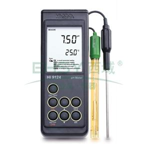 pH测定仪/温度测定仪,哈纳 防水型便携式测定仪,HI9124