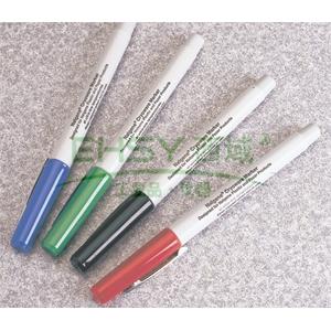 冻存器具记号笔,红色,绿色,蓝色,黑色各一只