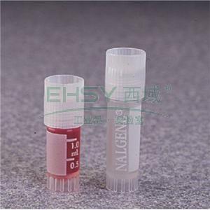 NALGENE无菌SYSTEM 100TM冻存管,聚丙烯;聚丙烯盖,硅胶垫圈,1.5ml容量