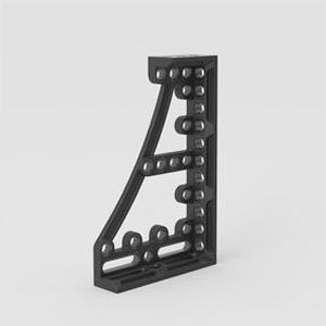 Siegmund焊接用止挡和夹紧角600GK  左 376x95x600mm
