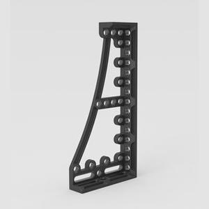 Siegmund焊接用止挡和夹紧角800GK  左 376x95x800mm