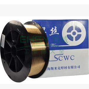 铜及铜合金焊丝,S214铝青铜焊丝, Φ0.8,12.5公斤/盘
