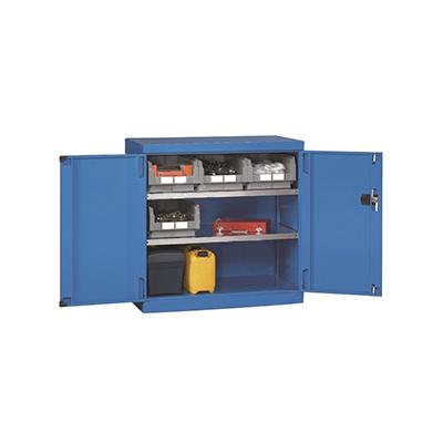 层板式置物柜 ,564×598×1000mm(二块层板)黄色
