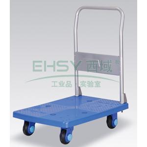 超静音单层固定式手扶手推车,静音轮,200KG