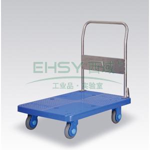 超静音单层固定式手扶手推车,静音轮,250KG